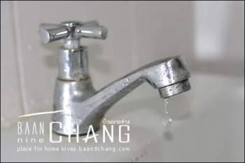 วิธีแก้ ก๊อกน้ำอ่างล้างหน้าน้ำหยด น้ำรั่ว ซ่อมได้